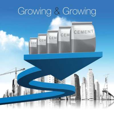 Growing and Growing Cement
