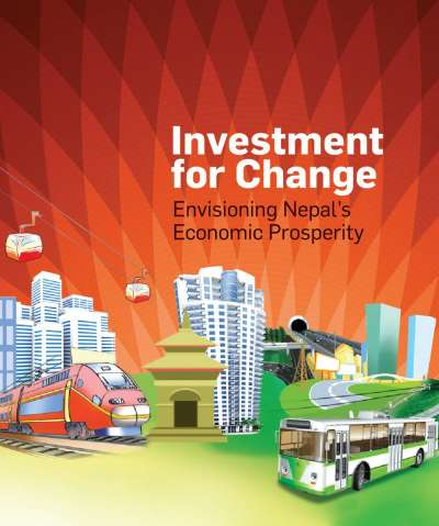 "<p><span style=""font-size:20px""><strong>Investment for Change</strong></span><br /> <strong><span style=""font-size:16px"">Envisioning Nepal's Economic Prospetrity</span></strong></p>"