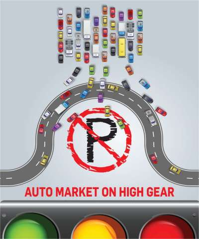 AUTO MARKET ON HIGH GEAR