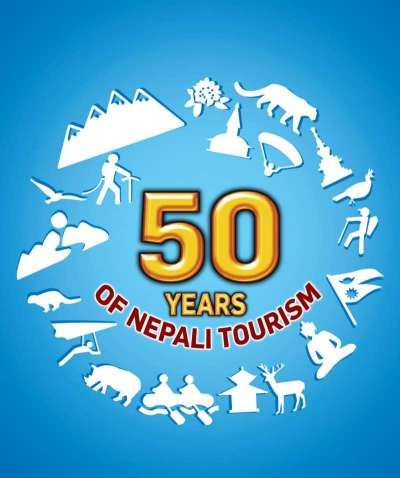 50 YEARS OF NEPALI TOURISM