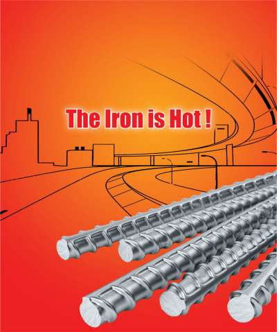THE IRON IS HOT!