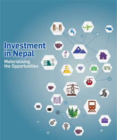 "<p style=""text-align: center;""><span style=""font-size:18px""><strong>INVESTMENT IN NEPAL<br /> Materialising the Opportunities</strong></span></p>"