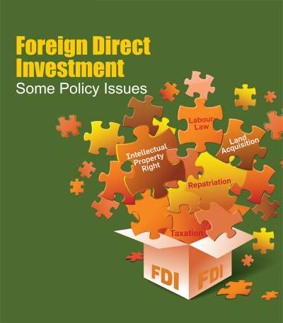 "<p style=""text-align: center;""><span style=""font-size:18px""><strong>FOREIGN DIRECT INVESTMENT<br /> Some Policy Issues</strong></span></p>"