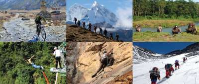 Nepal : A Paradise for Adventure Tourists