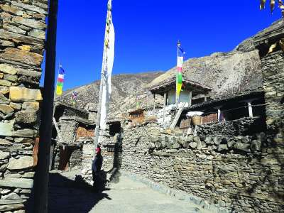 Through the Misty Mountains : Kishore Maharjan's Thrilling Trip to Manang