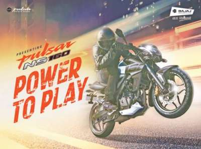 "Bajaj Pulsar NS 160 ""Power to Play"" Launched in Nepal"