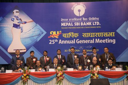 Nepal SBI Bank holds 25th AGM