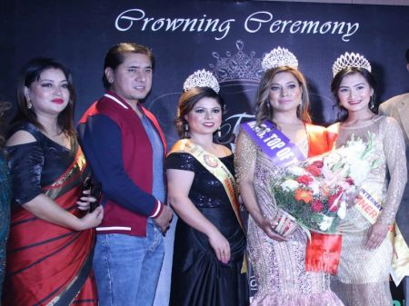 Alina Tuladhar crowned Mrs Top of the World Nepal 2019