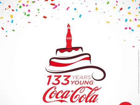 Coca-Cola Turns 133 years   New Business Age - monthly business