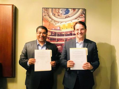 Universal Peace Federation Nepal Signs MoU with its American Counterpart