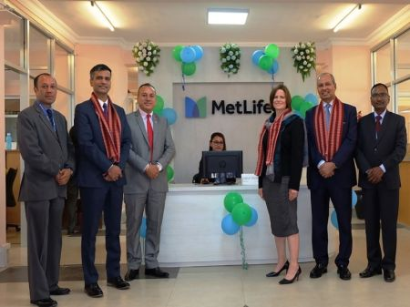 MetLife's Head of Strategic Growth Markets Visits Nepal