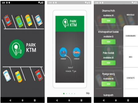 KMC Launches Smart Parking in New Road