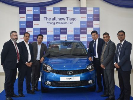 Official Launch of All-New Tata Tiago Held in Nepal