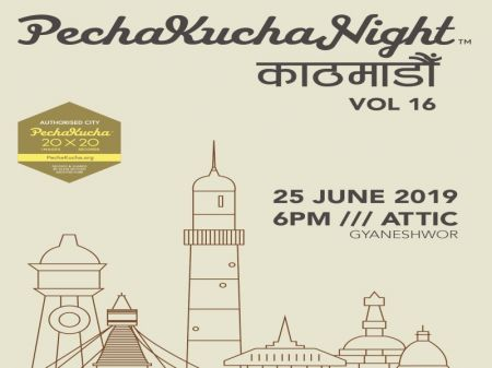 'PechaKucha' Night Kathmandu on Tuesday