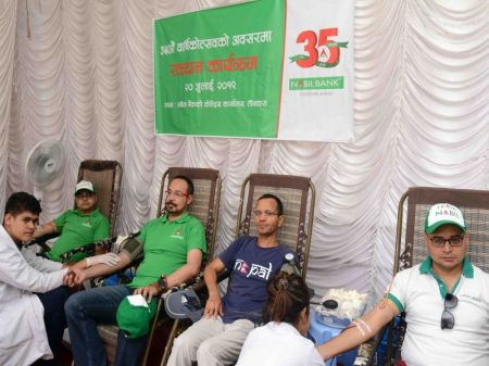 Nabil Bank conducts Blood Donation Programme