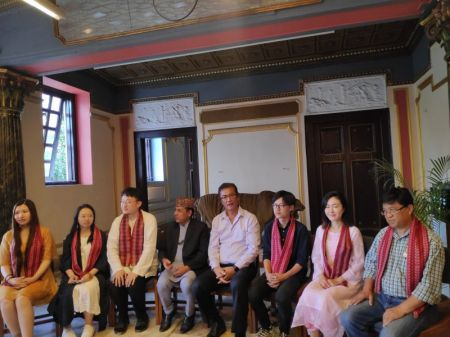 Visit Nepal 2020 Secretariat Welcomes Chinese Film Makers
