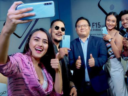 OPPO Launches F15 in Nepal