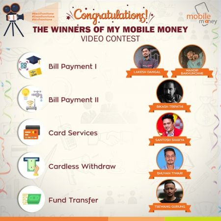 Laxmi Bank Announces Winners of 'My Mobile Money' Video Contest