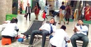 Kailash Bikas Bank Organises Blood Donation Camp