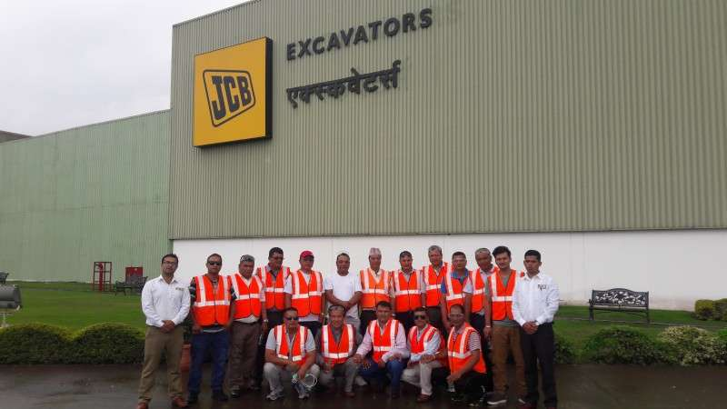 JCB's Customers visit Pune Manufacturing Factory