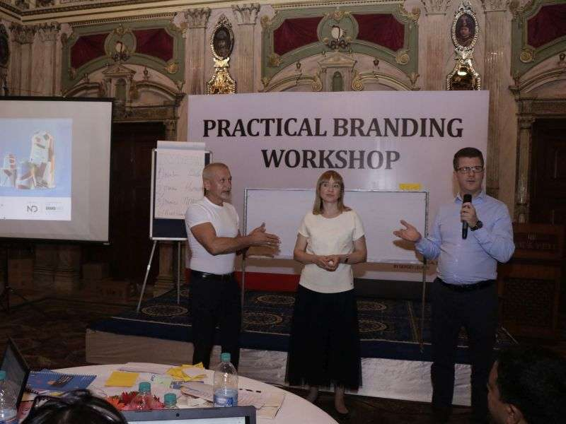 Practical Branding Workshop Concludes