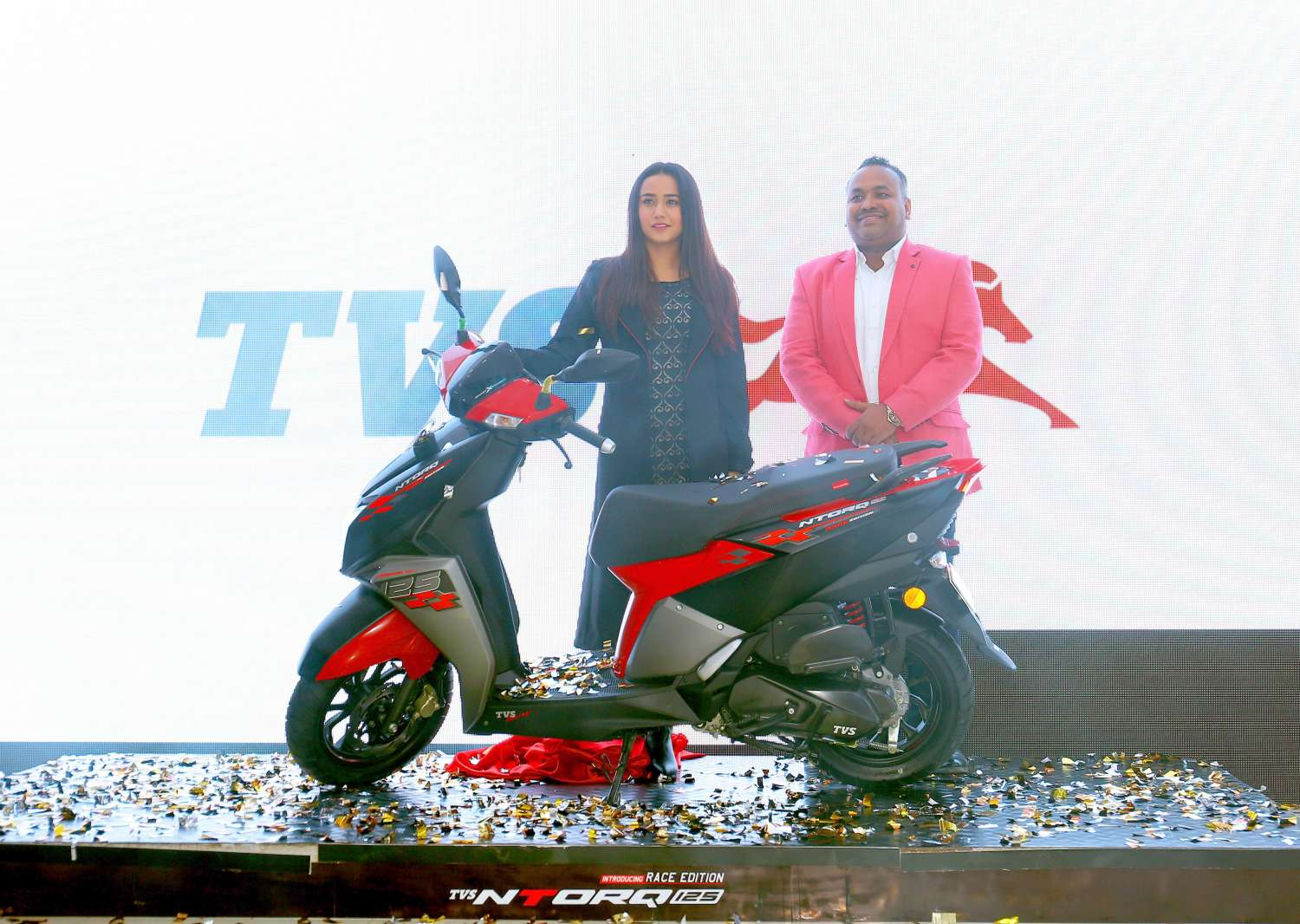 TVS Launches NTORQ 125 Race Edition in Nepal