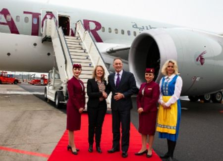 Qatar Airways' Inaugural Flight to Gothenburg