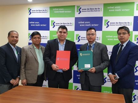 Bancassurance Pact between Kamana Bank and Everest Insurance