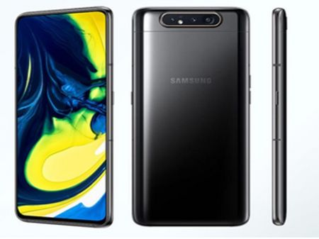 "Samsung Unveils Galaxy A80 with World's ""First 48MP Rotating Triple Camera"""