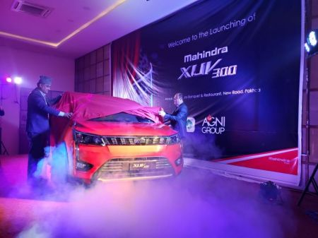Mahindra Launches XUV300 in Gandaki Province