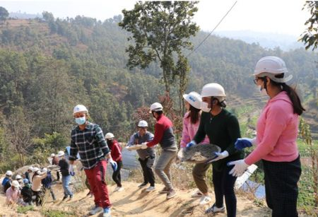 Metlife Collaborates with Habitat for Humanity to Rebuild Homes in Kavre
