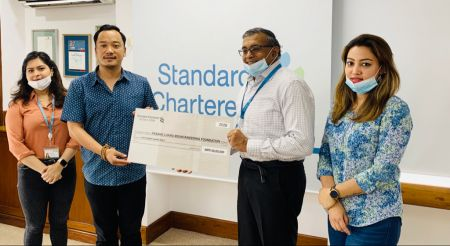 StanChart's Financial Support to Pasang Lhamu Mountaineering Foundation