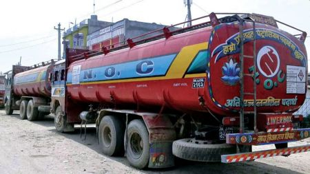 Petroleum Products Start Entering Nepal from Siliguri after 5 Months