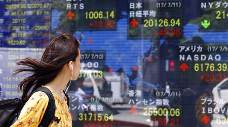 Asian Shares Hit All-time Highs