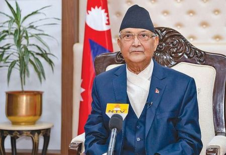 Prime Minister Oli says Nepal will be Self-Reliant on Food within 5 Years