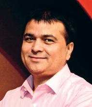 Bimal Timilsina, Chief of Operation Department Kailash Bikash Bank