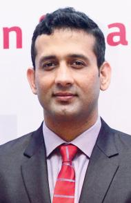 Virendra Rana, Senior Manager Air Conditioning and Energy Solutions of LG Electronics Singapore