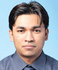 Razu Shrestha Brand Manager, Maruti Cement